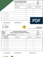 FQ - 000 Histórico de Manutenção Dos Fornos & Maquinas e Equipamentos