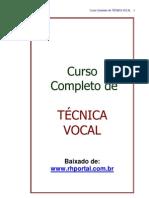 Oratoria Curso Completo de Tecnica Vocal