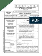 272. Reglamento Interior de La Junta Local Municipal Para La Operación Del Sistema de Agua... Montaaña Monarca