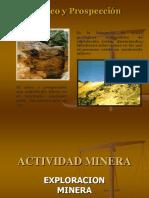 Categorias de Exploraciones Mineras