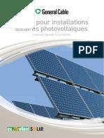 Câbles Pour Installations Solaires Photovoltaïques. Pour Une Énergie Plus Propre