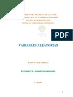 Trabajo 1 de Estadc3adstica Aplicada Variable Aleatoria9 100pk Leidibeth Rodriguez