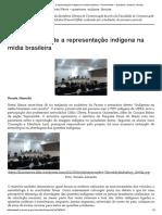 Reportagem_ Seminário Discute a Representação Indígena Na Mídia Brasileira
