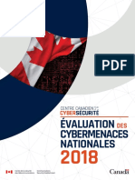 Évaluation des cybermenaces nationales 2018