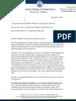 12.4.18 Final Revised 12.4.18 Joint Letter to HHS DOJ DOE Uphold Definition of Sex