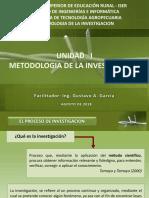 METODOLOGIA DE LA INVESTIGAION - METODO CIENTIFICO