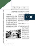 Educação Informal à Instituição Escolar - texto..pdf