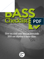 Bass Checklist