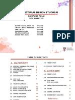 Kampung Pulai Site Analysis (Macro Site)