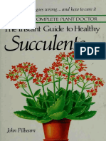 The Instant Guide to Healthy Succulents - John Pilbeam 1984
