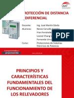 Protección de Distancia y Diferencial
