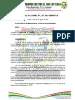 Resolución 126 Alc. - Subdivisión de Lote 2