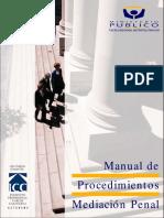 MANUAL DE PROCEDIMIENTOS MEDIACION PENAL.pdf