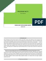 349926676 Program Mutu Rawat Intensif 1