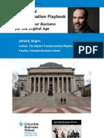 9 Strategy Tools - DigitalTransformationPlaybook - David Rogers