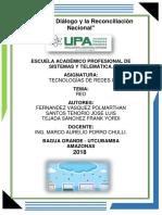 PROYECTO DE REDES DE LA EMPRESA DE PANADERÍA Y PASTELERÍA ZAFIRO