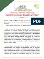 COMMUNIQUÉ_POUR_NIER_TOUT_LIEN_DE