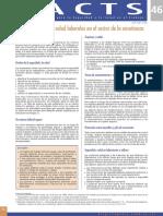 Articulo 2 - La Seguridad y La Salud Laborales en El Sector de La Ensenanza