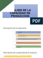 Analisis de La Capacidad de Produccion