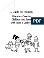 Diabetes Care for children and teens with Type 1 Diabetes