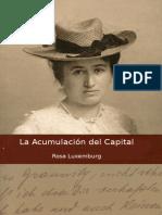 La Acumulacion Del Capital - Rosa Luxemburgo