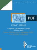 Informe - La Integracion de La Seguridad y La Salud en El Trabajo en El Sistema Educativo