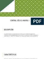 Central Eólica Wayra I