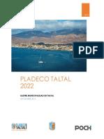 Pladeco Taltal 2016-2022 Poch Ambiental