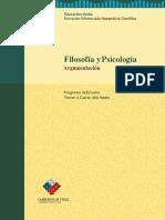 3º o 4º Medio Filosofía y Psicología_Argumentación