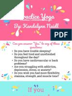 practice yoga  persuasive presentation
