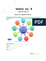 Práctica No. 8 Fundamentos de Ingenieria de Software