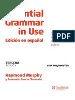 EssentialGrammarInUse Spanish 3thEdition
