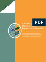 O Brasil e a Agenda Internacional para o Desenvolvimento Sustentável