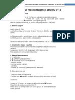 FICHA TECNICA TES DE INTELIGENCIA GENERAL O T I S