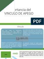 La Importancia Del Apego en La Conducta Del Niño Carta Descriptiva