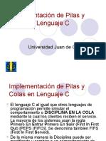 Implementacion de Pilas y Colas en C