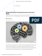 helping students develop executive function skills   edutopia