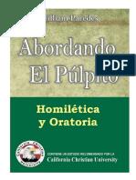 Libro Abordando El Pulpito