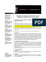 Adaptation of Mammalian Cell From 10% Serum