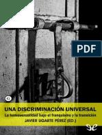 Una Discriminacion Universal