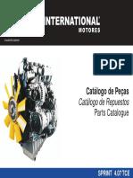 Catálogo de Peças Sprint Eletron.02 08