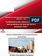 La Reconstrucción planes y tecnología para programas de vivienda social y proyectos viales.pdf