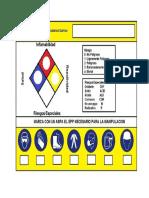 01. Sticker de Sustancias Quimicas
