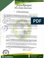 RESOLUCION DE ALCALDIA N° 033-2018-MDJ APROBAR LA LIQUIDACION DE LA OBRA