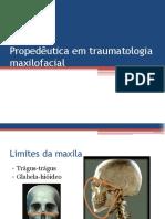Propedêutica Em Traumatologia Maxilofacial