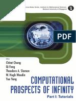 Chitat Chong, Chitat Chong, Qi Feng, Theodore A. Slaman, W. Hugh Woodin, Yue Yang Computational Prospects of Infinity, Part I Tutorials Tutorials Pt. I   2008.pdf