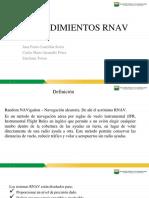 Procedimientos RNAV