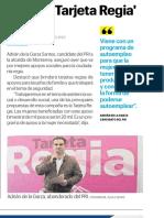 06-12-18 Ofrece 'Tarjeta Regia'