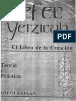 Sefer Yetzirah El Libro de La C - Kaplan Aryeh