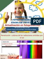 Presentación Novedades en Fotoprotección (1)